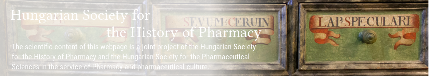 Hungarian Society for the History of Pharmacy