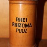 Rhei. rhizoma pulv.